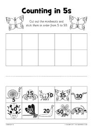counting in 5s primary teaching resources and printables sparklebox