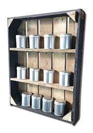portaspezie in legno cronenwerth scaffale portaspezie realizzato con vecchie assi di