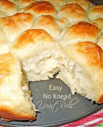 thanksgiving rolls recipe easy no knead yeast rolls melissassouthernstylekitchen com