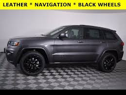 2017 jeep altitude black new 2018 jeep grand cherokee altitude sport utility in massillon
