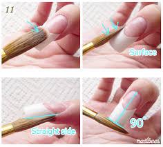 french tip nails nailbees