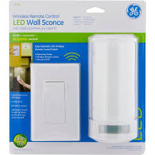 Wireless Led Wall Sconce Ge Led Wall Sconce Accent Light Walmart Com