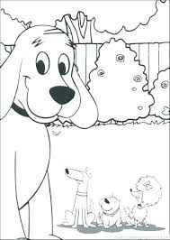 coloring page of a big dog clifford coloring page coloring pages the big red dog printable 4