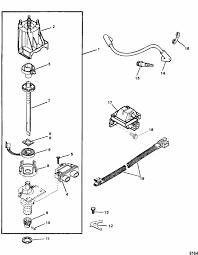 mercruiser 3 0l gm 181 i l4 est ignition components parts