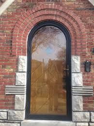 storm door window replacement round top steel storm doors st louis viviano inc