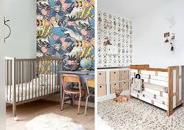 accent walls in nursery rooms kids interiors