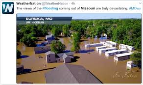Missouri Flooding Map Good Weather News For Minnesota But Historic Flooding Arkansas To