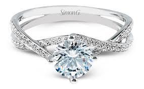 simon g engagement rings simon g criss cross engagement ring mr1394 arden jewelers