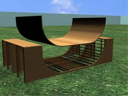 How To Build A Storage Shed Ramp by How To Build A Halfpipe Or Ramp 7 Steps With Pictures Wikihow