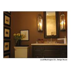 chocolate brown bathroom ideas bathrooms bathroom neutral traditional lantern via spark