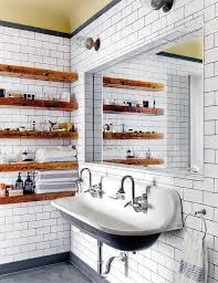 Best Bathroom Shelves Decorating Bathroom Shelves Houzz Design Ideas Rogersville Us