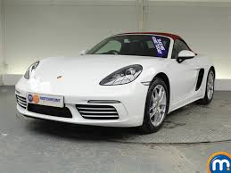Porsche Boxster White - used or nearly new porsche boxster 2 0 2dr pdk white for sale in