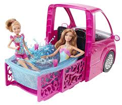 Barbie Glam Bathroom by Barbie Glam Camper Amazon Co Uk Toys U0026 Games