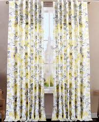 Tahari Home Drapes by Envogue Clarissa Window Curtains Hummingbird Large Flowers 50 By