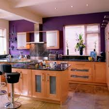 kitchen design dark purple wall paint color for kitchen with dark