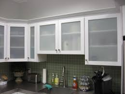 Frosted Glass Kitchen Cabinet Doors Kitchen Breathtaking Glass Cabinet Doors Inside Regarding Frosted
