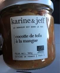 le bonheur dans la cuisine cocotte de tofu à la mangue karine jeff 380 g