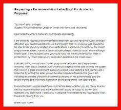 recommendation letter request how to ask for a letter of