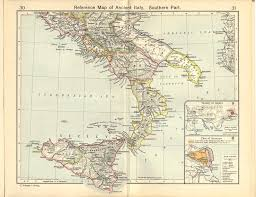 Liguria Italy Map by Reference Map Of Ancient Southern Italy Full Size