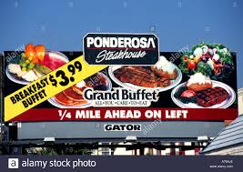 grand buffet de cuisine ponderosa steakhouse grand buffet florida united states fast