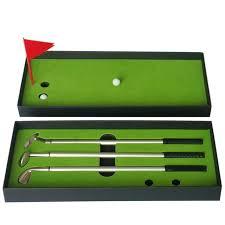 mini golf de bureau drôle de golf temps mini jeu jouer jouet accessoires de golf de