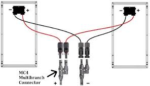 how to use mc4 connectors and extension cables wiring naws