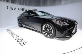 lexus canada news 2018 lexus ls 500 f sport coming to new york motor trend