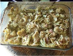 recette de cuisine au four artichauts au four