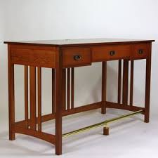 Arts And Crafts Writing Desk Mission Desks Craftsman Arts And Crafts Stickley Style Desks