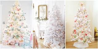 white christmas tree trend white christmas tree decorating ideas