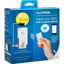 dimmer switch for track lighting lutron caseta p pkg1p wh plug in wireless dimmer switch starter kit