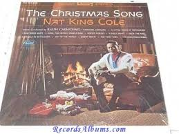 nat king cole christmas album nat king cole the christmas song vinyl lp record for sale