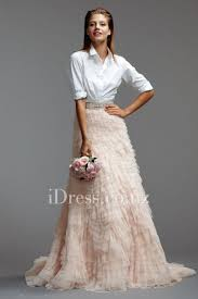 wedding skirt chapel shirred multi layered fit and flare bridal skirt idress