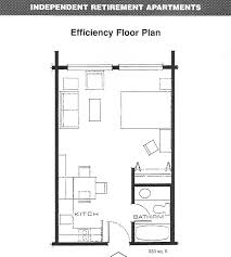 Apartment House Plans by Efficiency Apartment Layout Studio Apartment Floor Plans Related