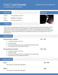free resume templates doc 50 free microsoft word resume templates