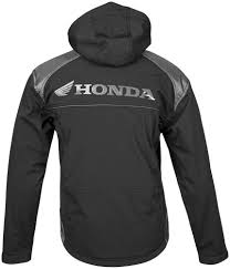 softshell bike jacket honda sport armored softshell motorcycle jacket