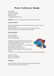 Network Technician Sample Resume by Avionics Installer Cover Letter
