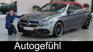 convertible mercedes red mercedes amg c63s v8 convertible full review test driven 510 hp