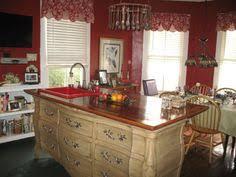 Repurposed Dresser Kitchen Island - how to turn a dresser into a kitchen island