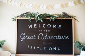baby shower chalkboard 18 fresh greenery baby shower décor ideas shelterness