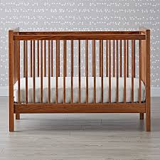 andersen crib walnut the land of nod