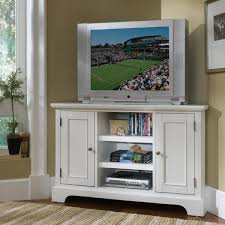 stunning corner cabinets tv stands with white cabinet paint color