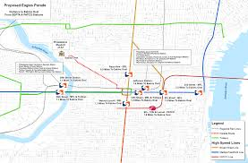 Septa Rail Map Eagles Super Bowl Victory Parade Everything You Need To Know