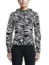 nike impossibly light jacket women s amazon com nike womens impossibly light palm print running jacket