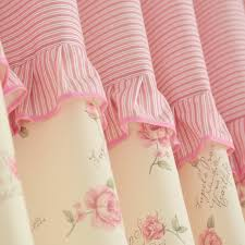 Lace Fabric For Curtains Aliexpress Com Buy Pink Curtains Fabric For Living Room Blackout