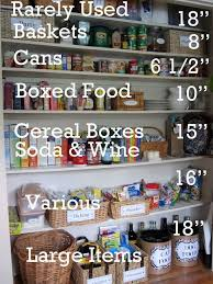 How To Organize Your Kitchen Pantry - 103 best pantry organization images on pinterest pantry