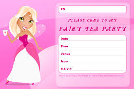 Tea Party Invitation Card Birthday Invitation Template Free U2013 Gangcraft Net