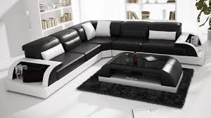 Large Black Leather Sofa Modern Large Leather Sofa Corner Suite New Rrp 5999 Black Modular