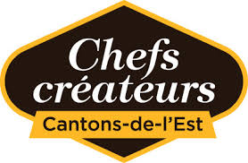 logo chef de cuisine chef hans christiner gourmet food european cuisine knowlton
