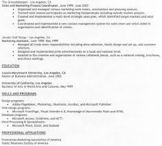 Sample Resume For Marketing Job by Resume Examples Experience Based Resume Template Builder Full